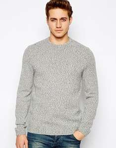 Mens ASOS Wool Mix Jumper in Twisted Yarn  £14.00 delivery £3 £17