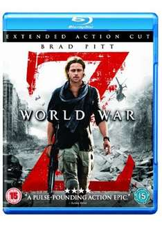 World War Z - Extended Action Cut (Blu-ray) @ Base - £7.99