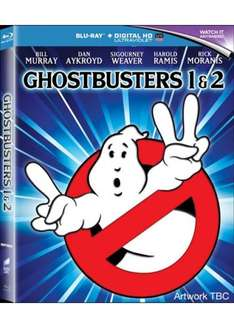 GHOSTBUSTERS 1 & 2 Special Collector's Edition (Blu-Ray + UV) Remastered - Preorder @ Base - £13.49
