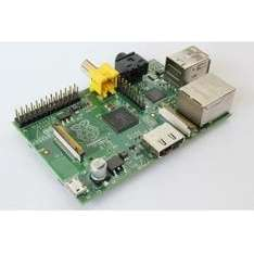 Raspberry Pi Model B (512MB RAM, UK Model) £22.13 inc. VAT and delivery @ Aria
