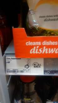 fairy clean and fresh dishwasher tablets 51 pack £5 @ ASDA