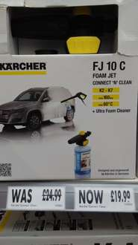 Karcher Foam Jet - £19.99 instore @ Homebase
