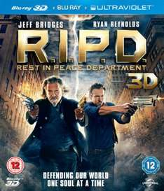 R.I.P.D.: Rest in Peace Department [Blu-ray 3D + Blu-ray] £8 @ Amazon (Free Delivery with Prime/£10 Spend)