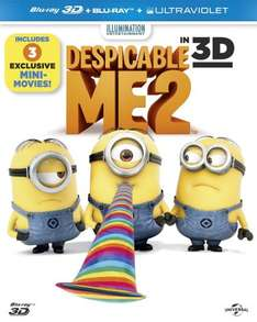 Despicable Me 2 [Blu-ray 3D + Blu-ray] - Amazon - £12