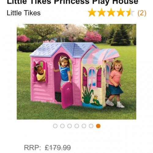 Little tikes princess playhouse - £112.27 @ Amazon