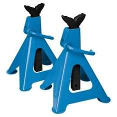 Silverline 3 tonne ratchet stands - £9.50 @ Tesco Direct