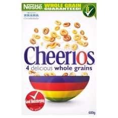 Nestlé Cheerios 600g 3 for £5 @ Asda plus others see list.....