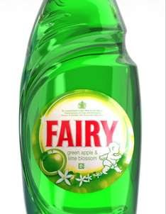 Fairy washing up liquid 630ml £1 @ tesco