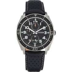 Citizen Men's Black Strap Multi Dial Eco-Drive Watch £69.99 (from £99.99) @ Argos