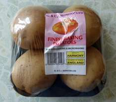 Jacket Potatoes 4 pack for 55p at Home Bargains