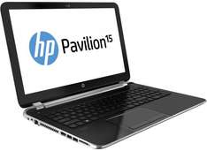 HP Pavilion 15 Laptop, 4th gen i3 1.7GHz, 6 GB 1600MHz DDR3L, 1 TB HDD, Win 8.1 x64 - £309.25 @ HP with CODE