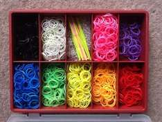 10 compartment storage case for loom bands £2.49 @ Screwfix with free C&C