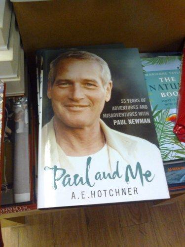 Paul Newman hardback book ' Paul and me'  £1 in poundland