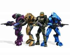 McFarlane Toys Halo 3 Campaign Co-Op Deluxe Boxed Set with 4 Action Figures £12.48 delivered / £8.99 in-store @ Home Bargains