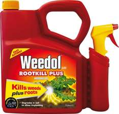 Weedol Rootkill Plus 3 Litres Ready to Use Weedkiller - Amazon £6.00 plus delivery (unless order over £10.00 or have prime)