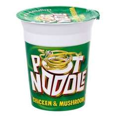 Pot noodle (90g) - 50p @ Morrison's free when you upload receipt to checkoutsmart