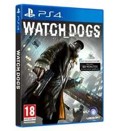 Watchdogs (PS4) £43 with Discount Code at Tesco.com