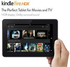 """Kindle Fire HDX 7"""" Tablet, 32Gb = £149 or 64Gb = £179"""
