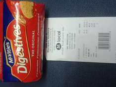 Mcvities Digestive 250gr for 23p instore @ Morrisons