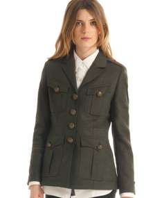 New Womens Superdry Field Tunic Jacket Dark Green ebay @ superdrystore £39.99