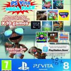 Sony PS Vita 10 Game Mega Pack On A 8GB Memory Card-Inc Little Big Planet 2 £30.00 @ Tesco outlet Ebay