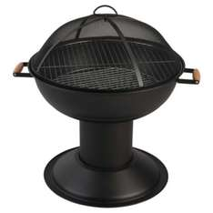 Tesco Charcoal Firepit/dwarf BBQ £22.50 with free click and collect from Tesco Direct