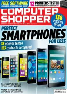 Computer Shopper £1 PRINT EDITION3 Issue Trial Offer @ Magazine Subscriptions