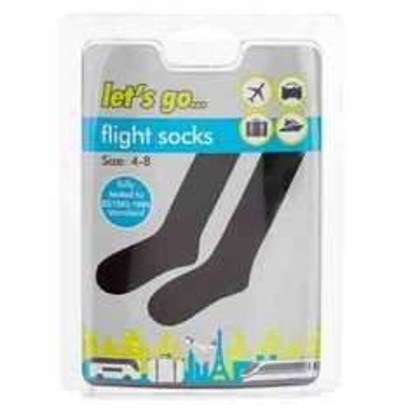 Flight Socks £1 at Poundland