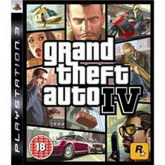 Grand Theft Auto IV (PS3) (Preowned) £1.90 Delivered @ Play.com/Zoverstocks