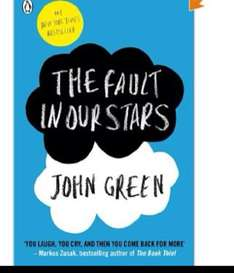 The Fault In Our Stars  [Paperback] now £3.85 @ Amazon  (free delivery £10 spend/prime)