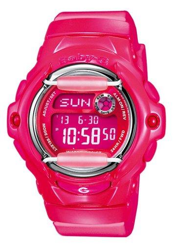 Baby-G Women's Quartz Watch with Pink Dial Digital Display and Pink Resin Strap BG-169R-4BER £16.99 @ Argos Ebay