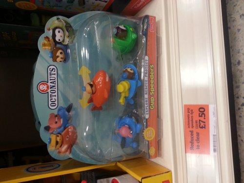 Octonauts pack of 4 mini Gups £7.50 @ Sainsburys instore