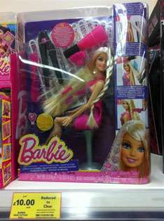 Mattel Barbie Hair Tattoos £10.00 @ Tesco Instore