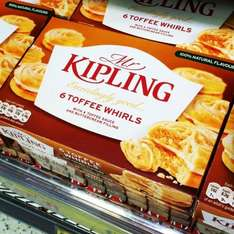 Mr Kipling 6 toffee whirls £0.69 @ home bargains
