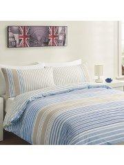 asda stripe duvet cover - single, nice design £2.50 byker store