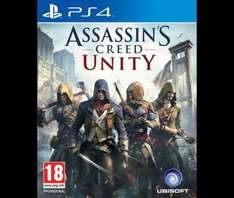 Assassins Creed Unity PS4/XBO £40 with code @ Tesco