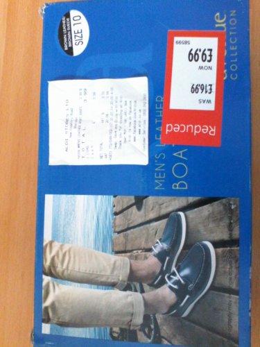 Men Leather Boat Shoes £3.99 @ Aldi
