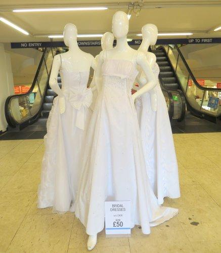 Wedding Dress  -  87.5% Reduction - £50 @ Designer Village Outlet in Croydon