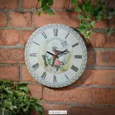 B&m ceramic wall clock reduced from £3.99 to £1.99