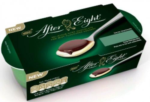 Nestlé After Eight / Rolo Chocolate / Milky Bar White Chocolate / Quality Street - Green Triangle & Hazelnut Desserts (2 x 70g) - 59p @ Morrisons...