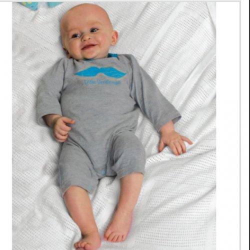 Baby little gentleman romper suit onesie £2.99 down from £9.99 @ Argos