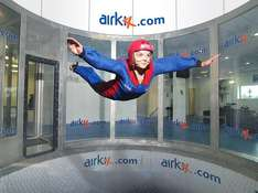 Indoor Skydiving Experience with DVD and Photo for 1 - £23 [65% OFF]! @ Amazon Local