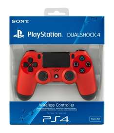 Sony PlayStation DualShock 4 - Magma Red £54.95 @ Amazon.co.uk - IN STOCK