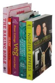 WHSmith Book Bundles - £15.99 Cookery (5), £5.99 Doctor Who (4) and more.