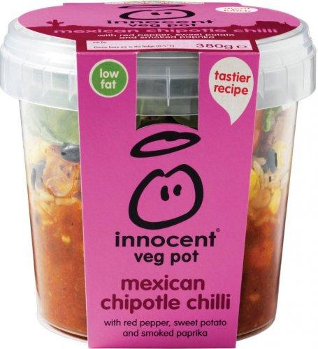 Innocent Veg Pots (380g) was £3.90 now £1.95 @ Tesco
