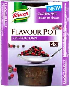 Knorr Flavour Pots (4 x 23g) was £1.89 now £1.00 (Varieties as stocked) @ Tesco