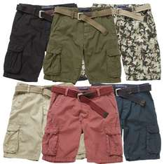 Charles Wilson Men's 100% Cotton Combat Cargo Shorts £9.95 Deliverded @ ebay charles wilson store