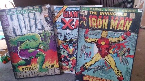 Comic Book Posters B&Q half price