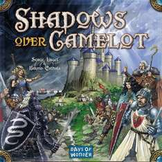 Shadows over Camelot the board game, £33.79 Sold by gadgetsville and Fulfilled by Amazon