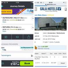 New year 2 night stay Amsterdam £225pp @ Skyscanner